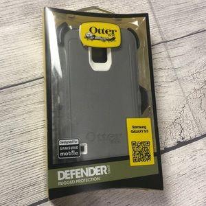 🆕 OtterBox Defender Case Samsung GALAXY S5